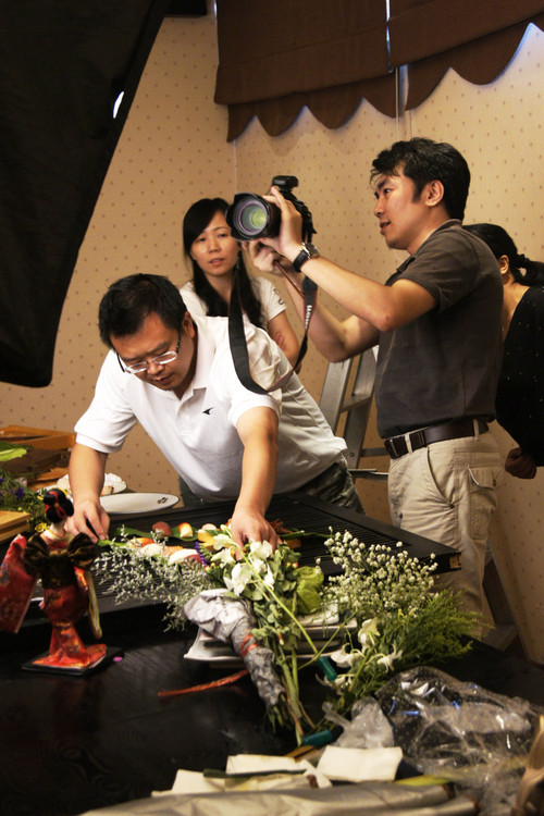 上海启顺菜谱市场部总监荣幸参加北京2012中国企业领袖年会
